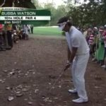 Bubba Watson can make a shot basically from anywhere. Barry Svrluga at the Washington Post has an excellent read on Bubba Watson and 'Bubba Golf'.