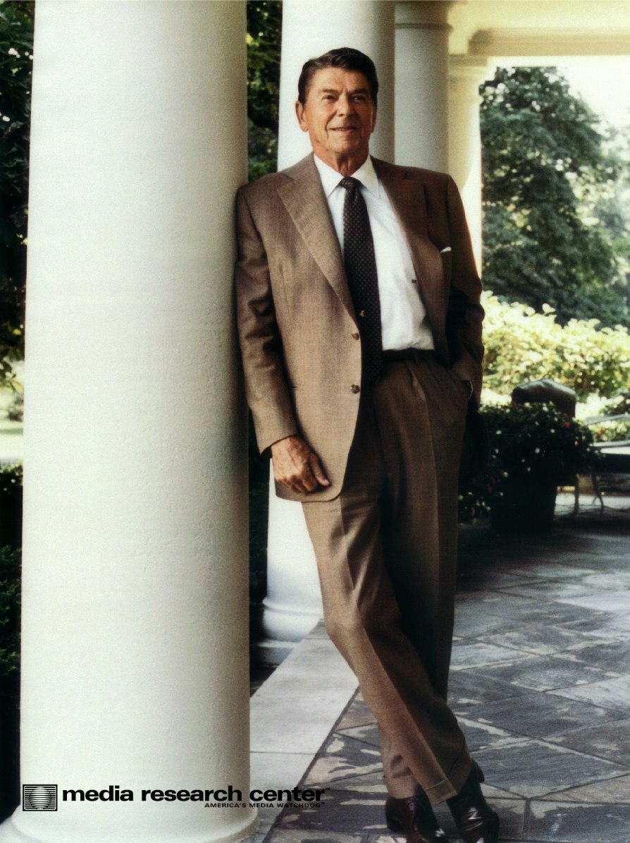 Photo of President Ronald Reagan
