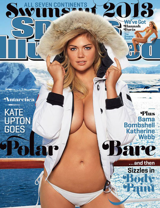 Kate Upton 2013 SI Swimsuit Cover